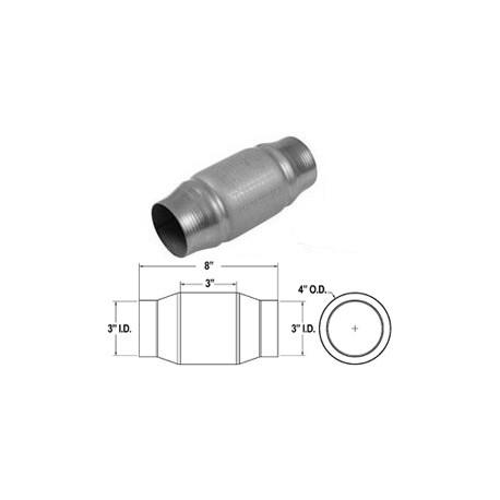 Catalizzatore universale 200 celle metallico 51 mm Cod. 59954