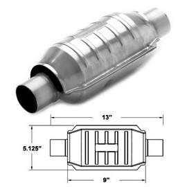 Catalizzatore Magnaflow EURO 4 Tondo 63 mm