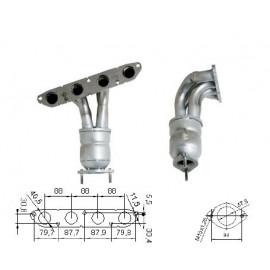 MG ZT 1.8i 16V 1796 cc 87 Kw / 118 cv 18K4F