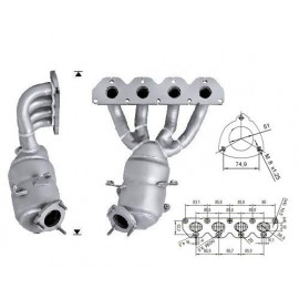 ZAFIRA 1.6i 16V 1598 cc 85 Kw / 116 cv Z16XER