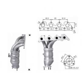 ALTEA 1.4i 16V 1390 cc 63 Kw / 86 cv BXW